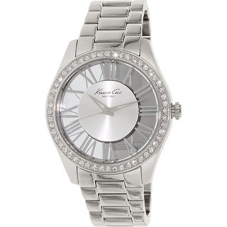 Kenneth Cole Women's Silver Stainless-Steel Quartz Fashion Watch