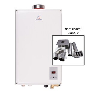 Eccotemp 45HI-NG HB  6.8 GPM Residential Natural Gas Tankless Water Heater with 140000 Maximum BTU Input - White