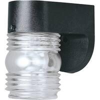 Westinghouse 66800 One Light Exterior Wall Lantern, Black Polypropylene