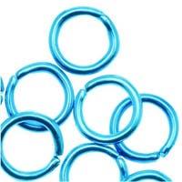 TierraCast Brass Oxide Finish Brass Open Oval Jump Rings 6mm 20 Gauge (50)