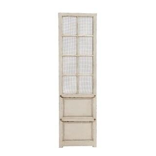 Benzara 18154 Wall Panel, Wood Metal