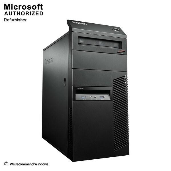 Lenovo M93P TW, Intel i5-4570 3.2GHz, 12GB DDR3, 3TB HDD, DVD, WIFI, BT 4.0, HDMI, W10P64 (EN/ES)-Refurbished
