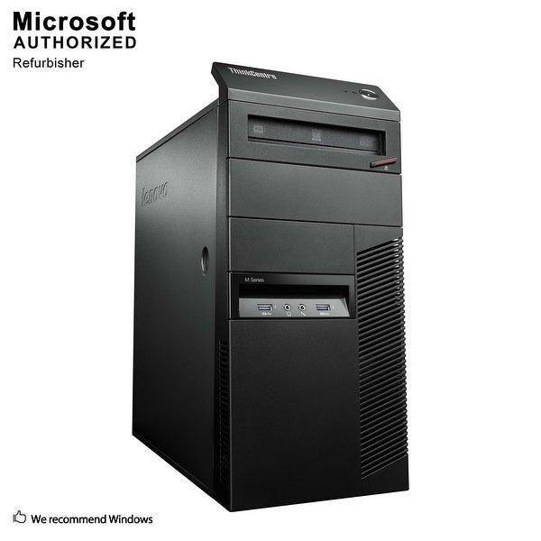 Certified Refurbished Lenovo M93P TW, Intel i5-4570 3.2G, 8GB DDR3, 120GB SSD+3TB HDD, DVD, WIFI, BT 4.0, HDMI, W10P64 (EN/ES)