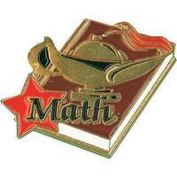 Simba SA23 1.25 in. Math Pin Lapel Pin - Pack of 25