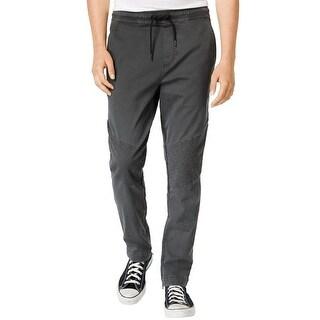 American Rag Slim Fit Moto Casual Jogger Pants Hudson Grey