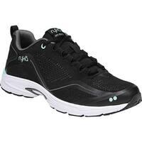 Ryka Women's Sky Bolt Walking Shoe Black/Gray/Mint