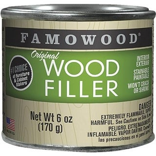Eclectic Prod. 6Oz Wht Pine Wood Filler 36141148 Unit: EACH
