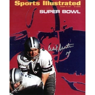 Craig Morton signed Dallas Cowboys Sports Illustrated Cover 8x10 Photo January 18, 1971