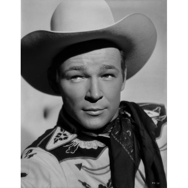 13c980734fc29 Shop Roy Rogers Posed in Western Attire Photo Print - Free Shipping On Orders  Over  45 - Overstock - 25474569