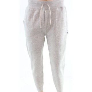 Polo Ralph Lauren NEW Gray Mens Size Large L Fleece Drawstring Pants