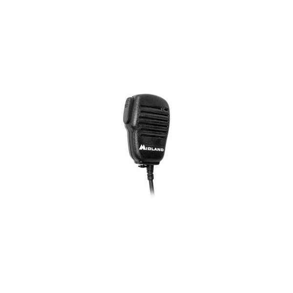 Midland AVPH10 Shoulder Speaker Mic with Dual Pin Connector
