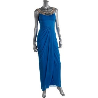 Niteline Womens Petites Chiffon Prom Evening Dress - 4P