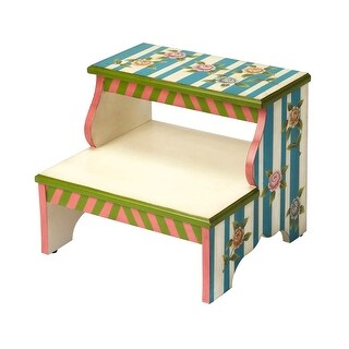 Surprising Offex Traditional Alice In Wonderland Step Stool Assorted Overstock Com Shopping The Best Deals On Stepstools Pabps2019 Chair Design Images Pabps2019Com