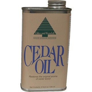 Giles & Kendall 8Oz Cedar Oil OIL 12-8 Unit: EACH