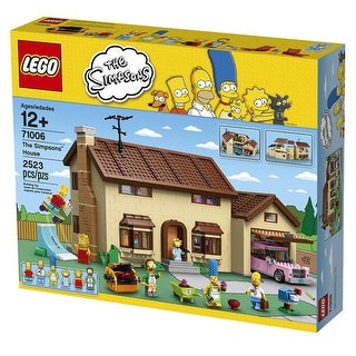 LEGO The Simpsons House Building Set 71006 - Multi