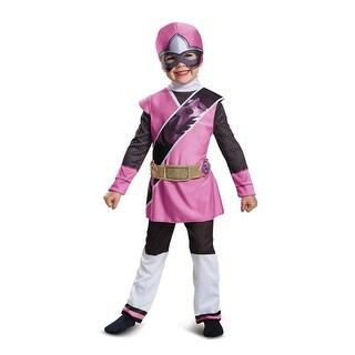 Toddler Ninja Steel Pink Power Ranger Costume