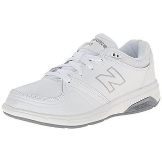Link to New Balance Womens 813 Walking Shoes Leather Comfort - White Similar Items in Women's Shoes