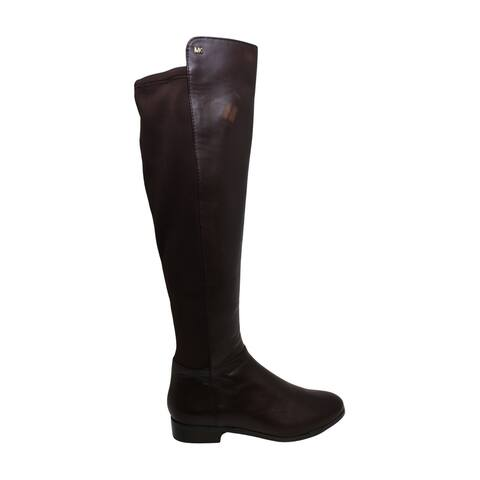 Michael Michael Kors Womens Bromley Fabric Almond Toe Knee High Fashion Boots - 5.5