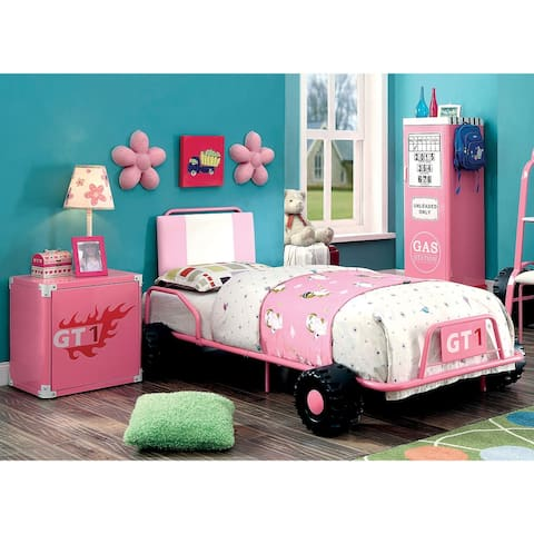 Furniture of America Tere Modern Twin 3-piece Racing Bedroom Set