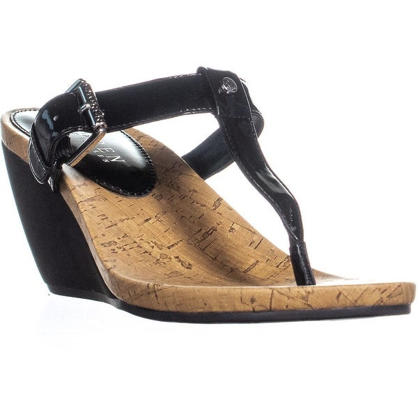47a0c2460483 Shop Lauren Ralph Lauren Roseanne Wedge T Strap Sandals
