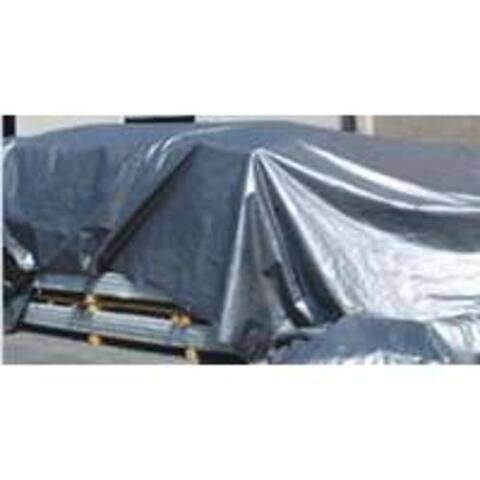 Mintcraft T0608GS140 Heavy Duty Tarp 6'x8', Green/Silver