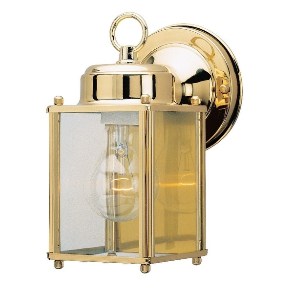 "Westinghouse 66936 One-Light Exterior Wall Lantern, 4-1/8"" x 8-1/4"""