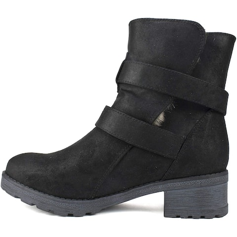 White Mountain Women's Shoes Chastity Fabric Closed Toe Ankle Cold Weather Boots