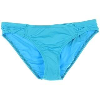 Tommy Bahama Womens Gathered Tab Side Swim Bottom Separates