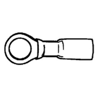 Calterm 65704 22-18 Gauge Shrink Ring - Red