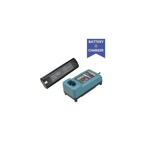 Li-Ion Battery + Charger Combo for Makita 191681-2 B9000 1.5Ah - Generic