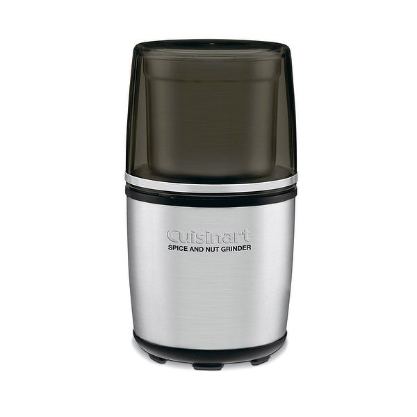 Conair-Cuisinart Sg-10Fr 0.4 Cup Refurbished Electric Spice & Nut Grinder - Silver/Black