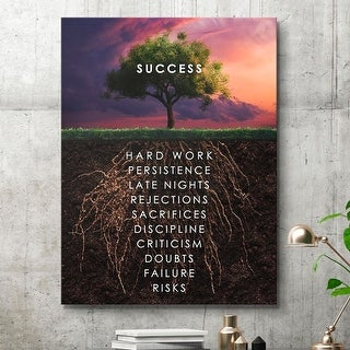 IKONICK Roots Of Success Canvas Art