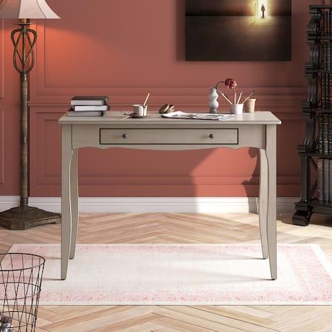 Corvus Ursula Mid-century Wooden 1-drawer Office Desk