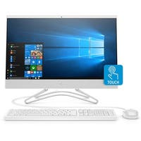 "HP 24-F AMD A-9 8GB 1TB HDD 23.8"" FHD Touchscreen All-in-One Desktop PC (Refurbished)"