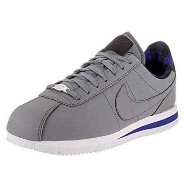 Shop Nike Mens Cortez Basic Prem Low Top Lace Up Fashion Sneakers ... 48d0428c0612