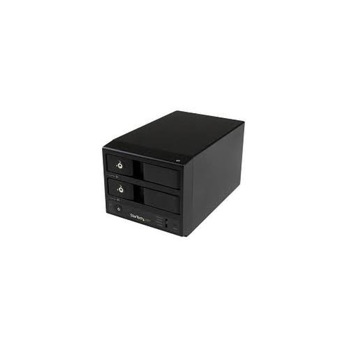 Startech - S352bu33rer Esata/Usb 3.0 2X Hdd Enclosurenw/ Uasp For 3.5In Sata Hard Drives