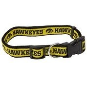 University of Iowa Nylon Adjustable Dog Collar