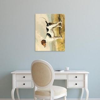 Easy Art Prints Vero Shaw's 'Fox Hound' Premium Canvas Art