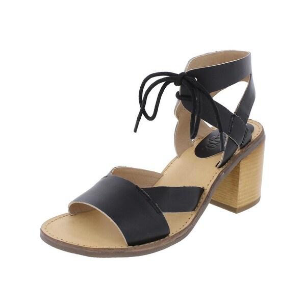Latigo Womens Vela Heels Open Toe Cut Out