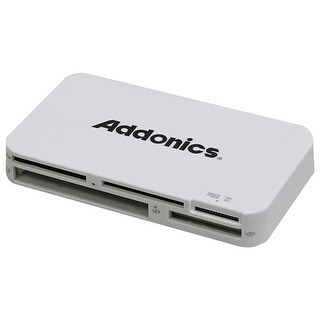 Addonics AESDDNU3 Addonics Mini DigiDrive IV AESDDNU3 15-in-1 USB 3.0 Flash Card Reader/Writer - 15-in-1 - microSD, Memory Stick