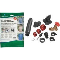 Earth Minded Rain Barrel Diverter Kit