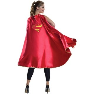 DC Comics Supergirl Deluxe Costume Cape Adult One Size - Pink