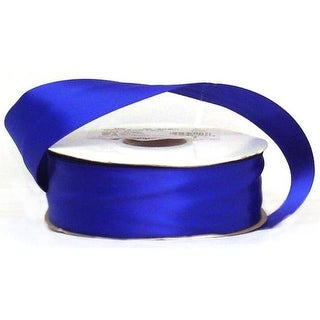 "Offray Ribbon Doubleface Satin 1 1/2"" Royal"