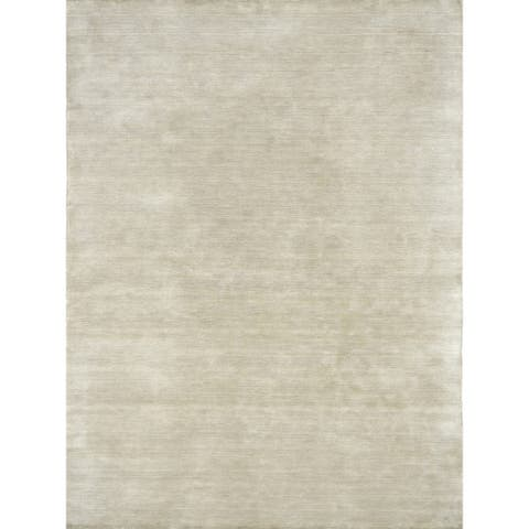 Granada Transitional Ivory Handwoven Area Rug - 4'x6'