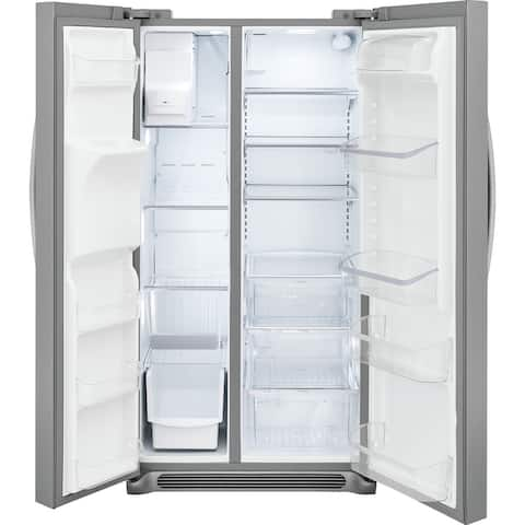 Frigidaire FRSS2623AD 25.5 Cu. Ft. Side-by-Side Refrigerator - Black Stainless Steel