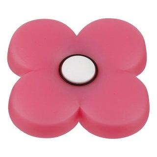 "Hickory Hardware HH74644-ZZ Kids Corner 1-13/16"" Diameter Flower Designer Cabinet Knob - Pink - n/a"