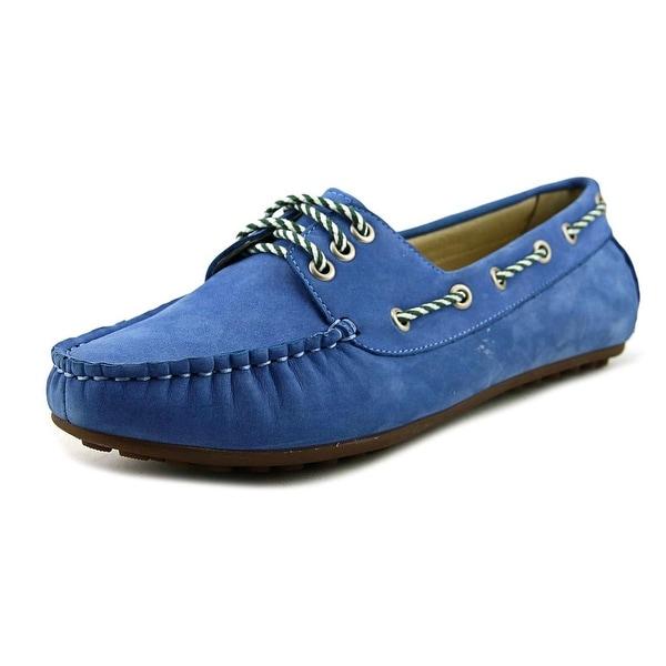 David Tate Talia Women W Moc Toe Leather Loafer