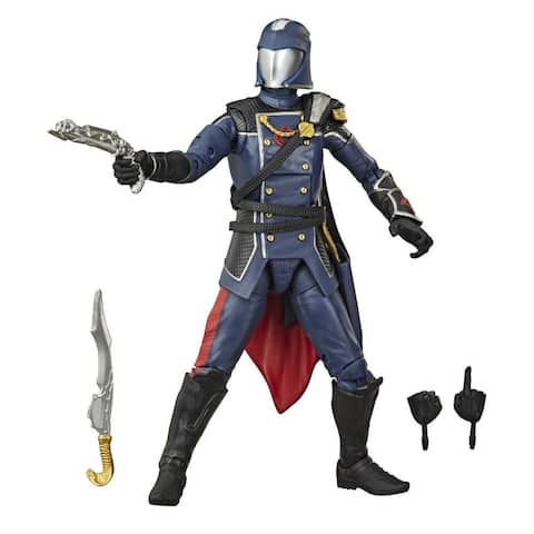 G.I. Joe Classified Series Series Cobra Commander Action Figure 06 Collectible Toy With Accessories, Custom Package Art