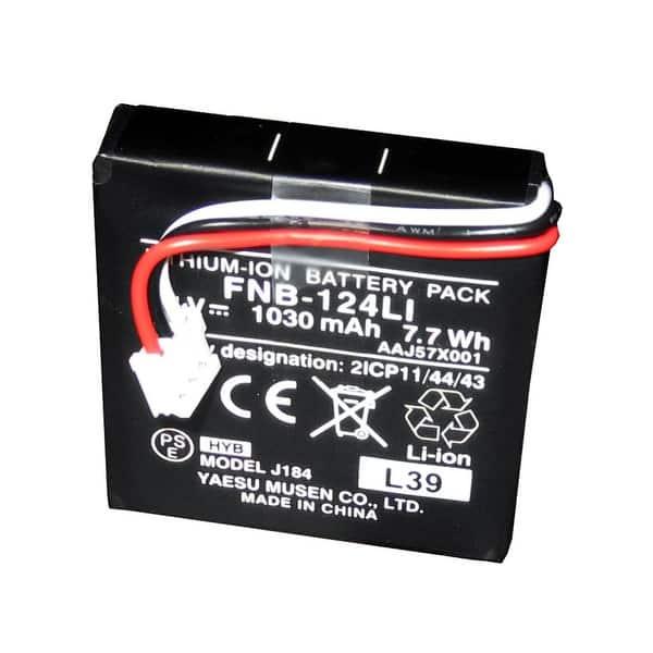 Shop Black Friday Deals On Standard Fnb 124li Battery For Hx150 Fnb 124li Overstock 17662653