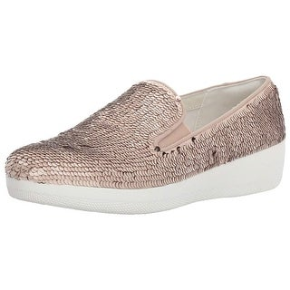 FitFlop Women's Superskate with Sequins Slip-on Loafer